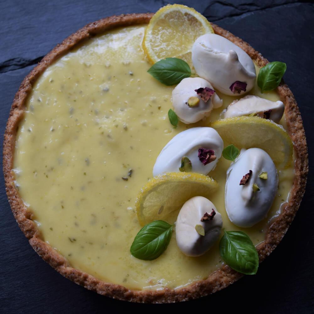crostata al limone senza farina